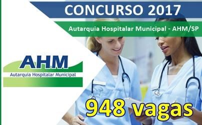 Concurso AHM SP 2017