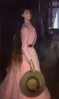 Jacques-Emile Blanche - Portrait Of Donna Olga Caracciolo Dei Duchi Di Castelluccio