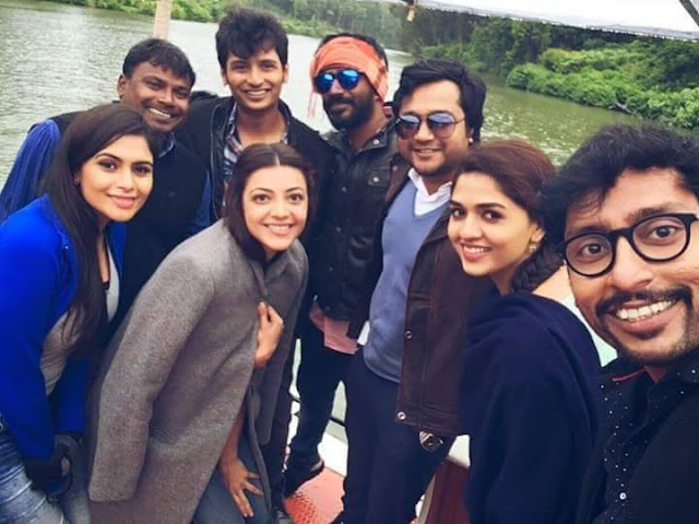 Kavalai Vendam Latest Working Stills