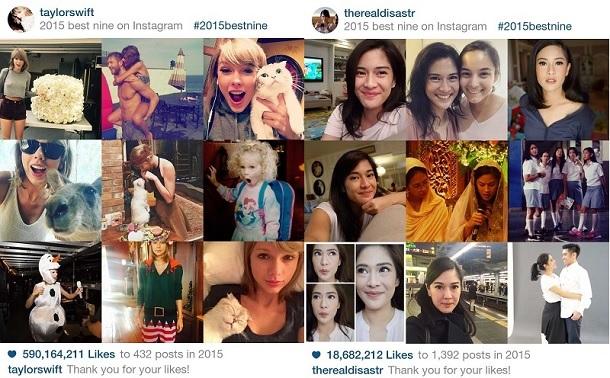 #2015BestNine, Inilah Cara Membuat 9 Foto Instagram Terbaikmu 2015