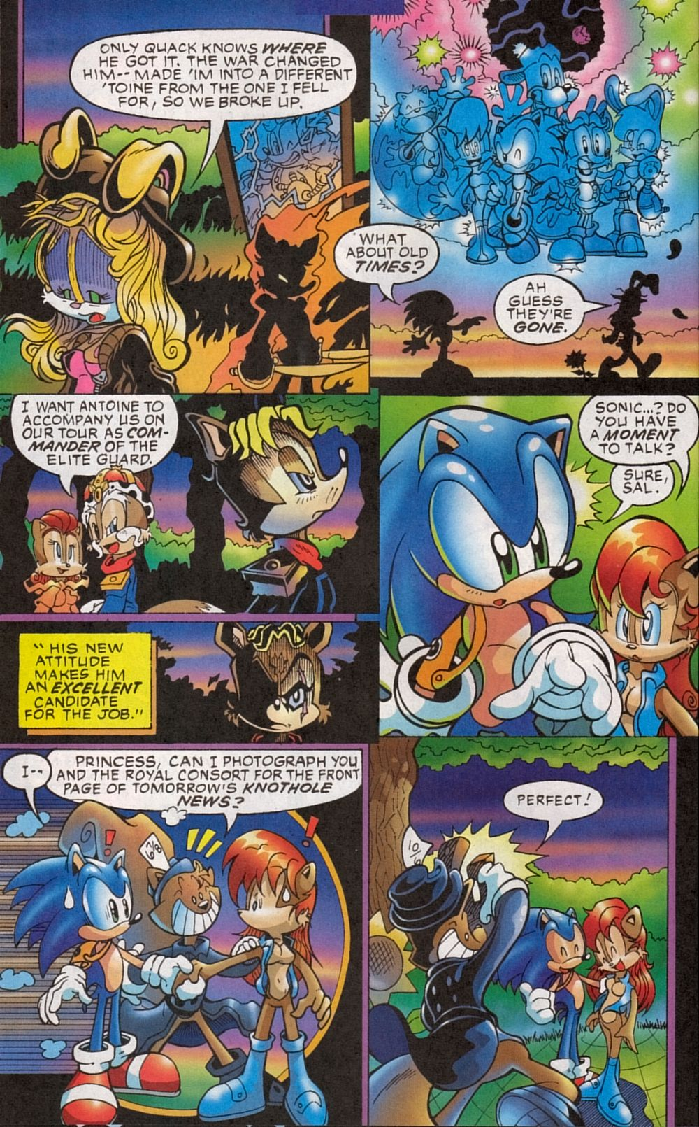 Read online Sonic The Hedgehog comic -  Issue #134 - 20