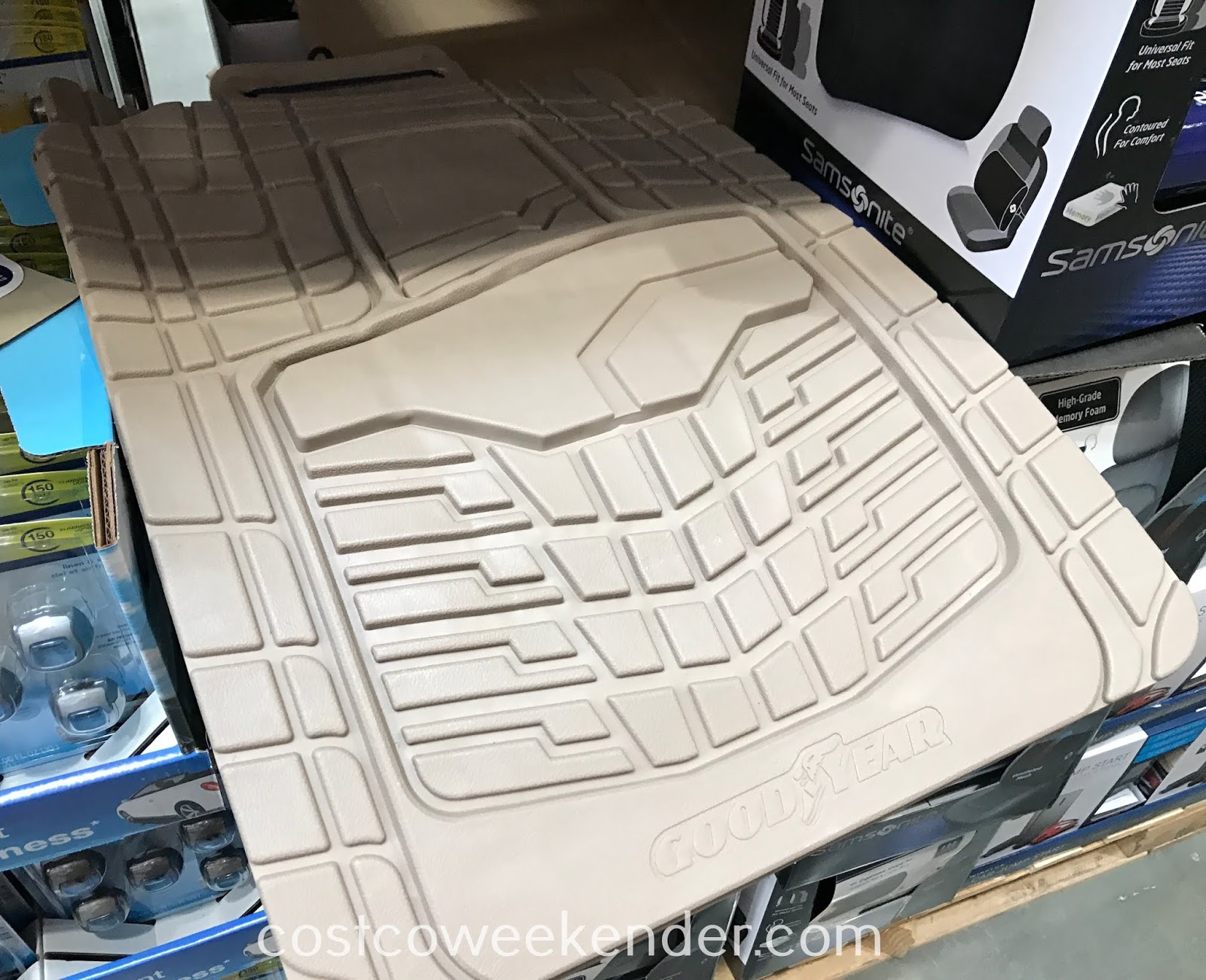 Protect your car's interior with Goodyear All-weather Floor Mats