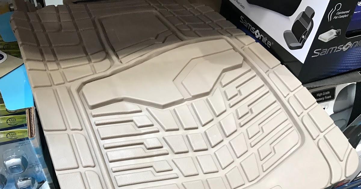 Goodyear All Weather Floor Mats Set Of 4 Costco Weekender
