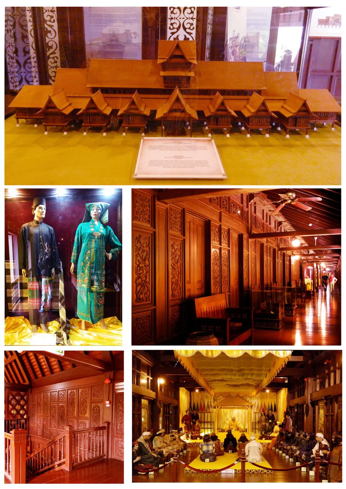 Dalaman Muzium Kesultanan Melaka