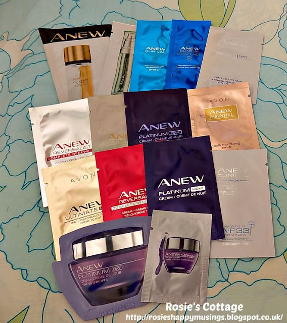 Avon Skincare Samples