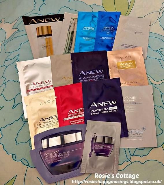 Avon Skincare Samples