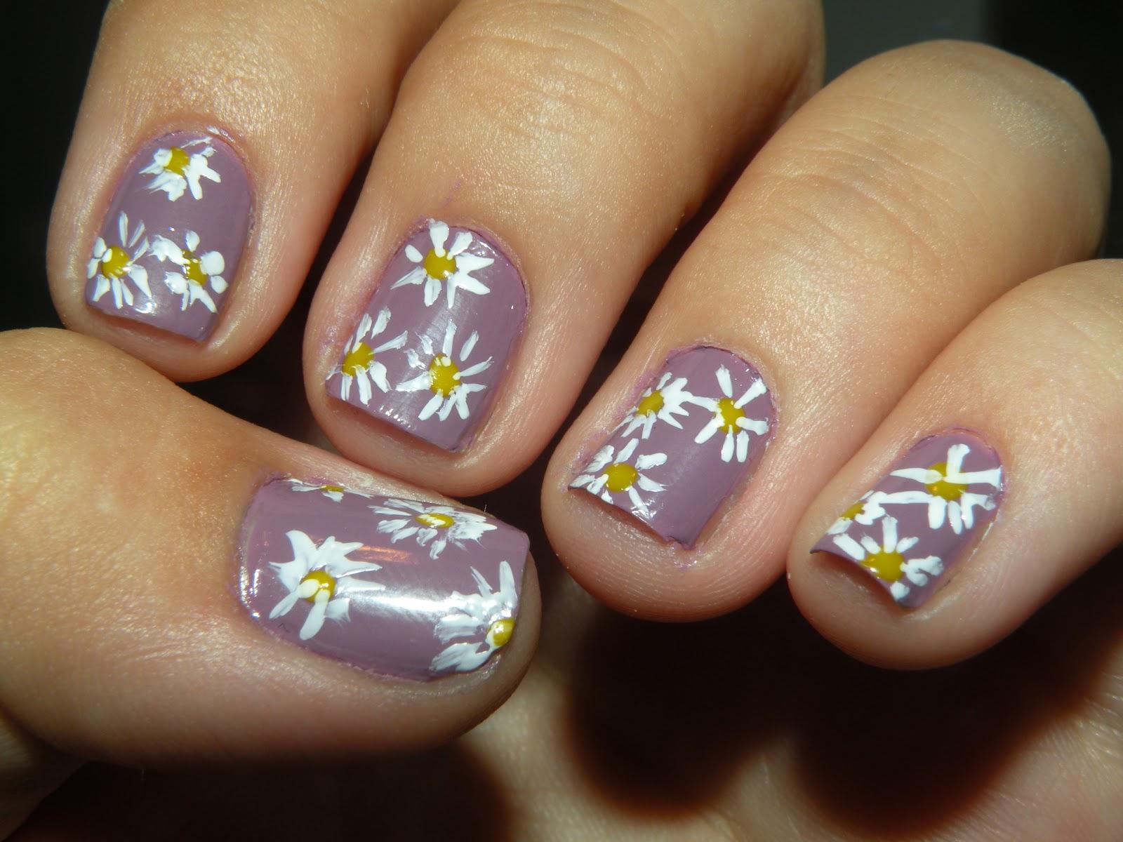 Laura's Nail Art: flower nails