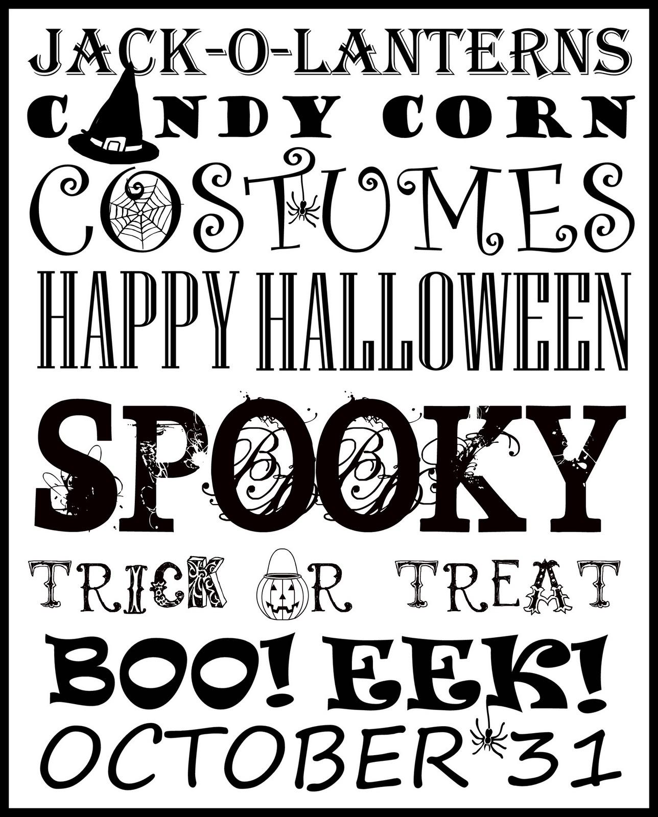 I Finished It Friday Halloween Subway Printable Art