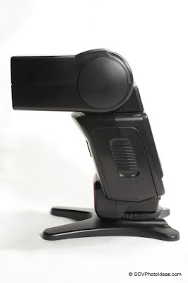 Canon Speedlite 420EX left side
