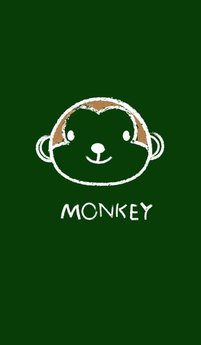 Simple Monkey on a Blackboard theme