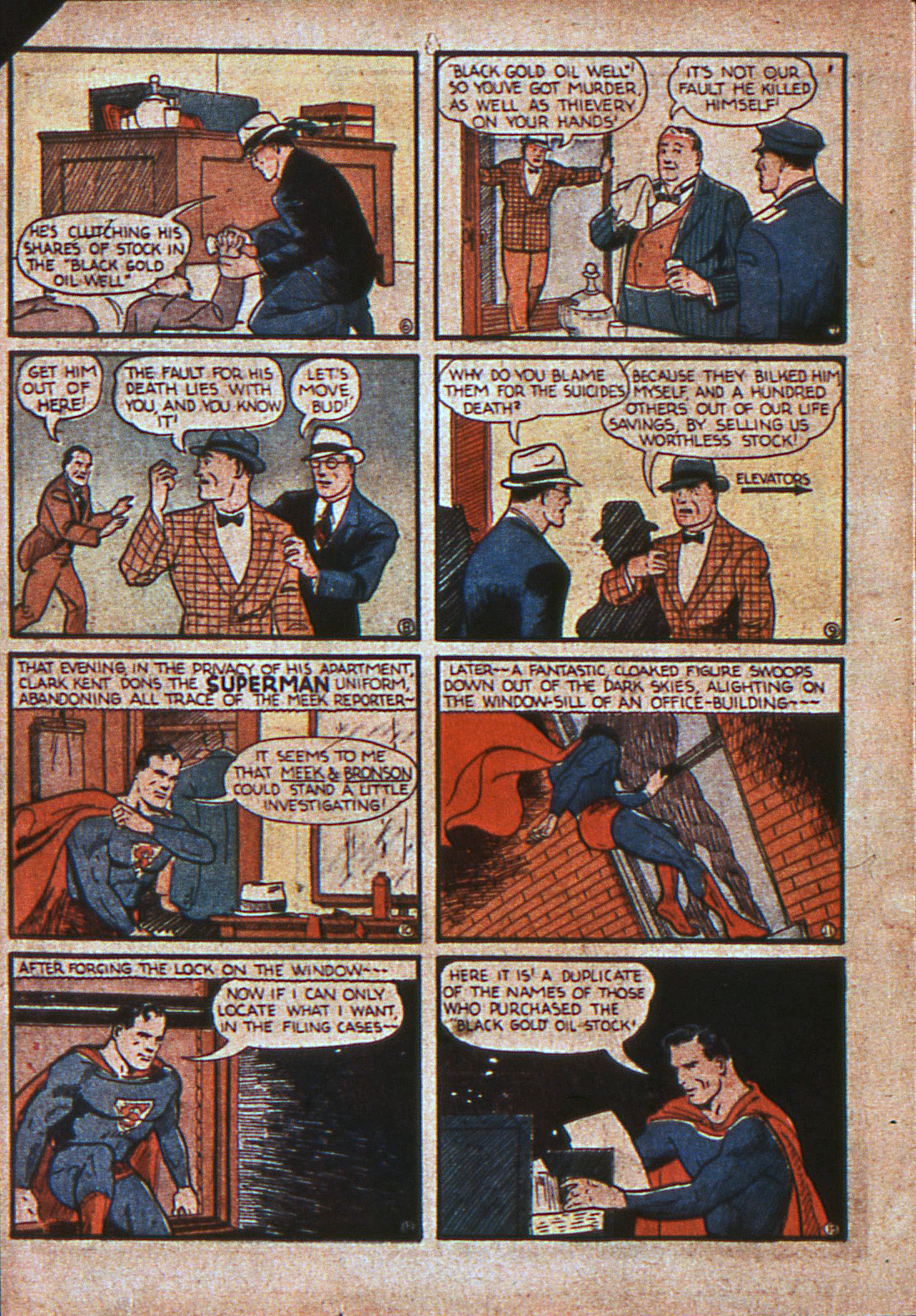Action Comics (1938) 11 Page 4