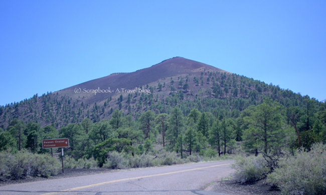 Arizona Sunset Crater Volcano National Monument