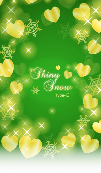 Shiny Snow Type-E Green & Gold