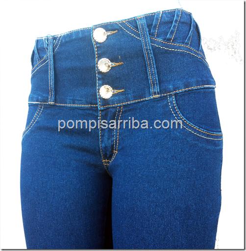 Venta de Jeans corte colombiano de mayoreo de mezclilla en ...