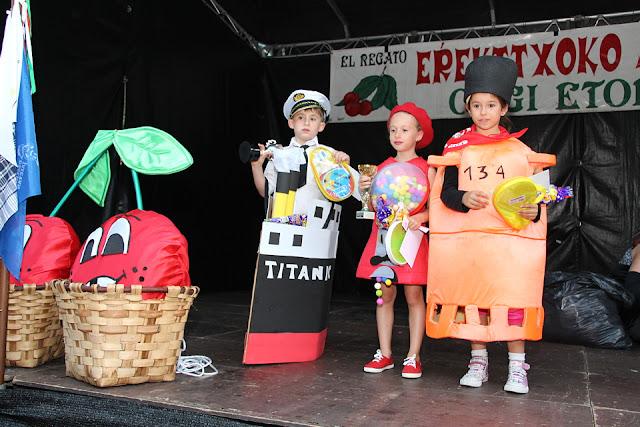 ganadores del concurso infantil de disfraces