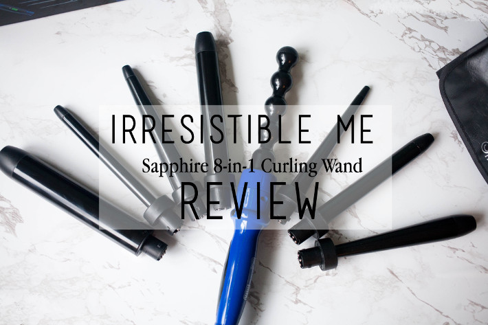 Beauty: Irresistible Me Sapphire 8-in-1 curling wand review