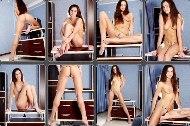 Erotica Mpl Studios Michelle www.eroticaxxx.ru Молодая модель с бритой писечкой (18+)