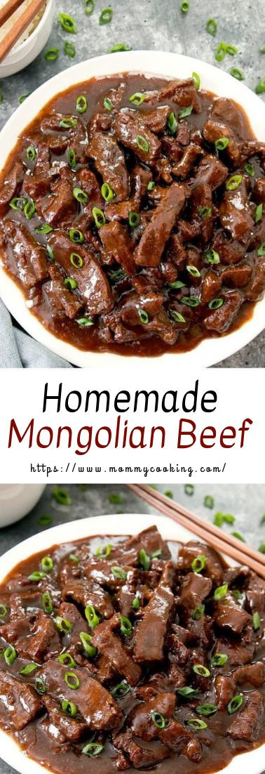 Homemade Mongolian Beef #beefcookeasy #easyrecipe