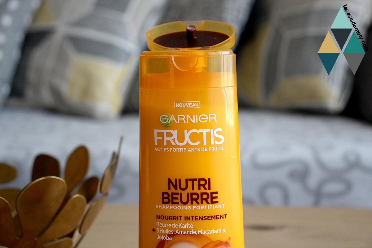 shampooing fructis nutri beurre de garnier avis