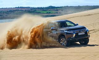 All New Pajero Sport- Chinh phục đồi cát Bàu Trắng