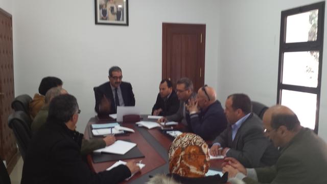 لقاء تواصلي بأكاديمية تطوان مع الجمعية الوطنية لمديري ومديرات الثانويات العمومية بالمغرب