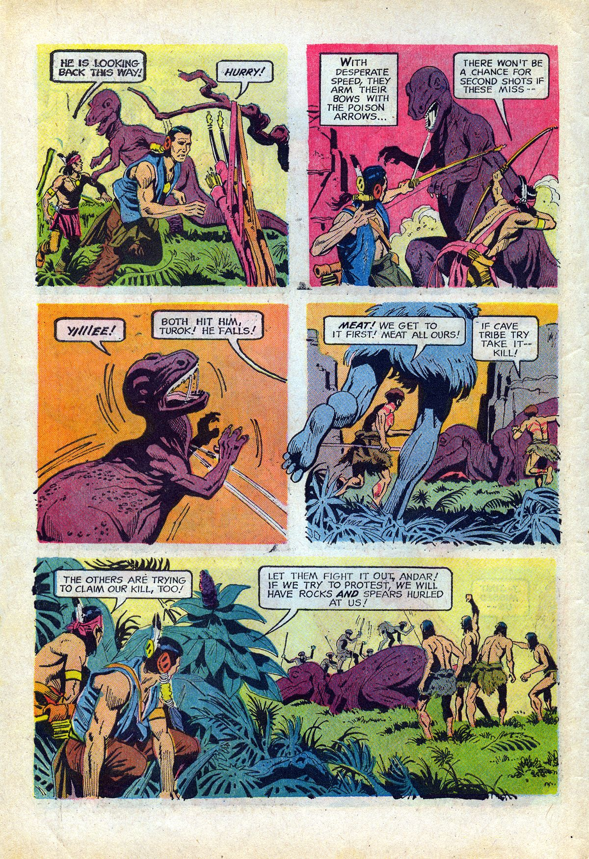 Read online Turok, Son of Stone comic -  Issue #66 - 6