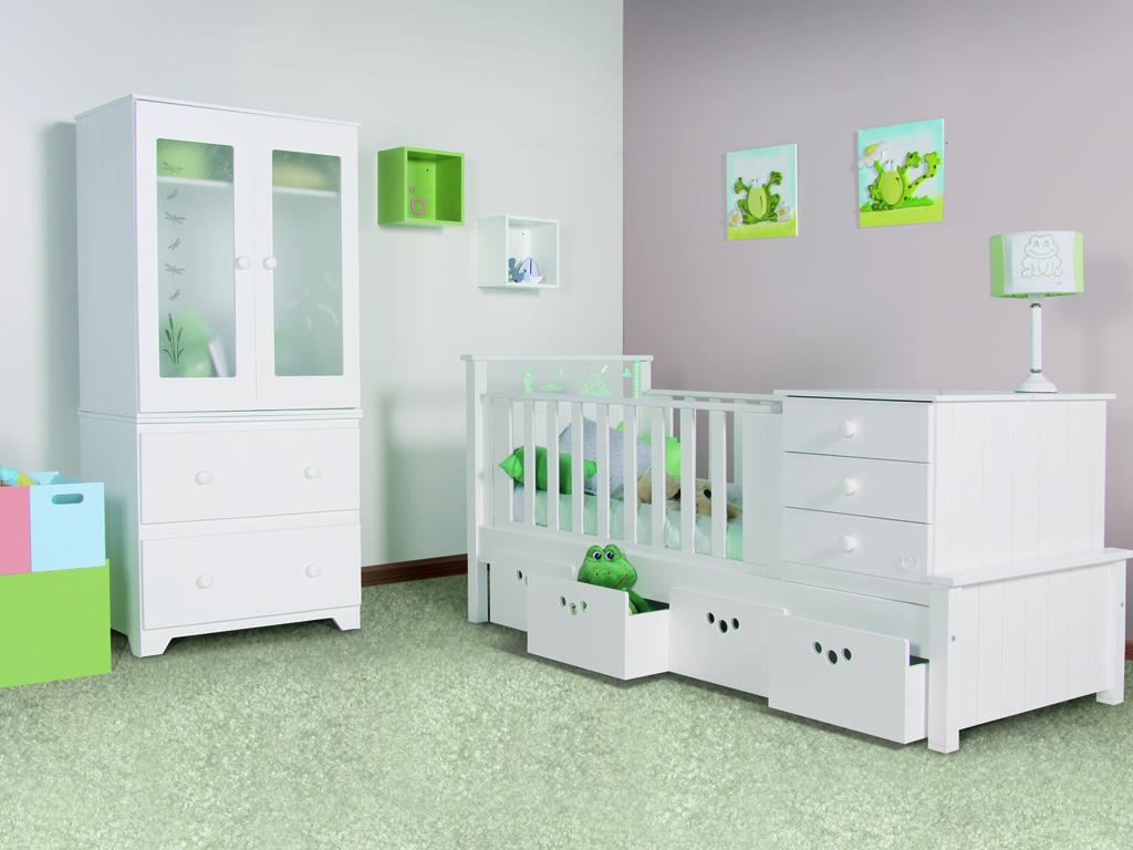 Carpinteria segar cunas for Cuartos para bebes modernos