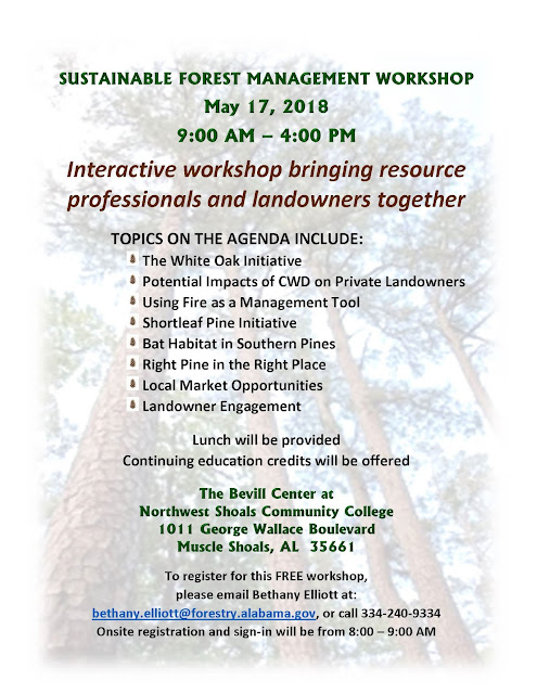 Sustainable Forest Management Workshop Flyer