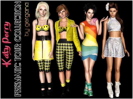 "Katy Perry ""PRISMATIC TOUR"" Collection"