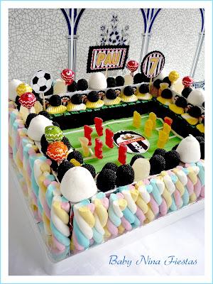 tarta chuches campo de futbol C.D.Cabanes