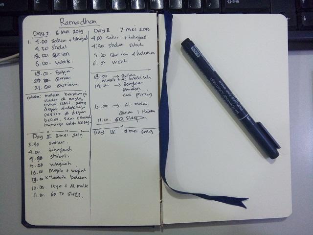 Bikin Jurnal harian Agar lebih Produktif dan Teratur