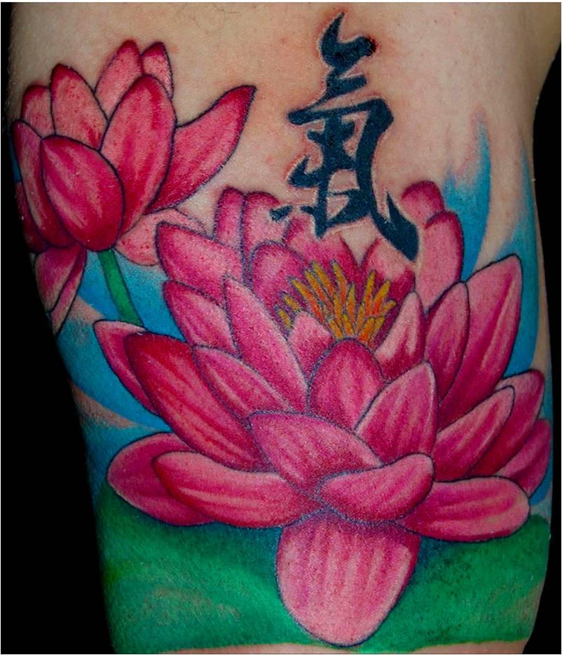 Lotus Flower Tattoo: Trend Tattoo Styles: Lotus Tattoo Location And Variety Ideas