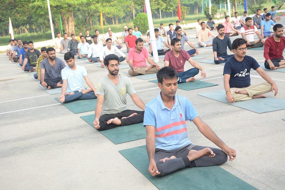 yoga in ptc saharanpur