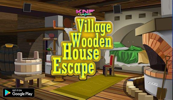 KnfGames Village Wooden House Escape Walkthrough