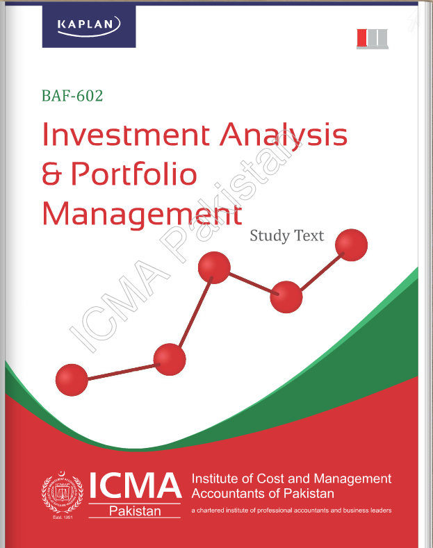 BAF-602: INVESTMENT ANALYSIS & PORTFOLIO MANAGEMENT