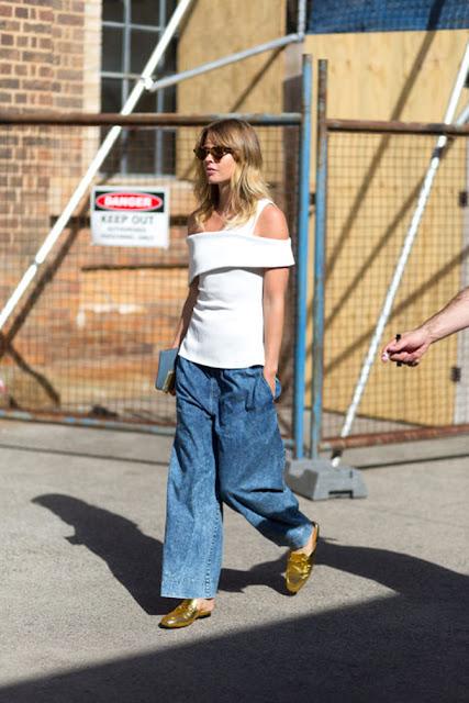 wide leg boyfriend jeans outfit