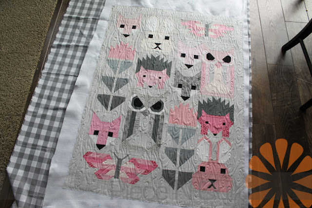 Piece N Quilt Fancy Forest Baby Quilt Edge To Edge