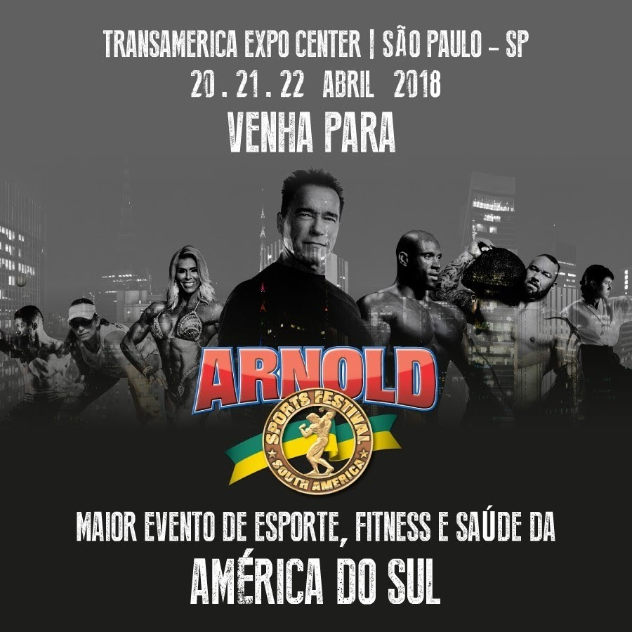 Arnold Sports Festival South America 2018. Foto: Reprodução