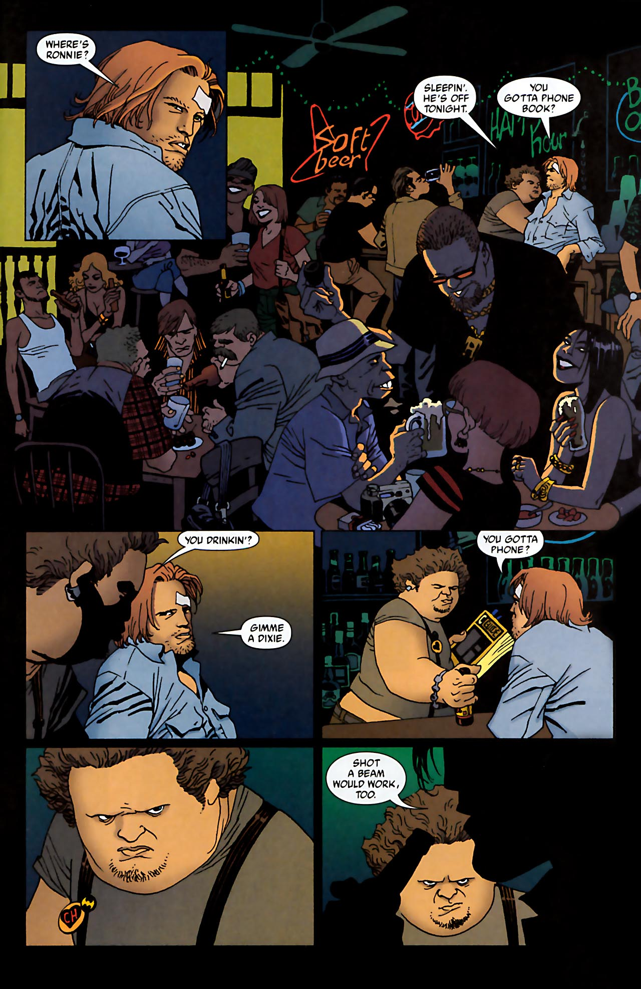 Read online 100 Bullets comic -  Issue #52 - 17