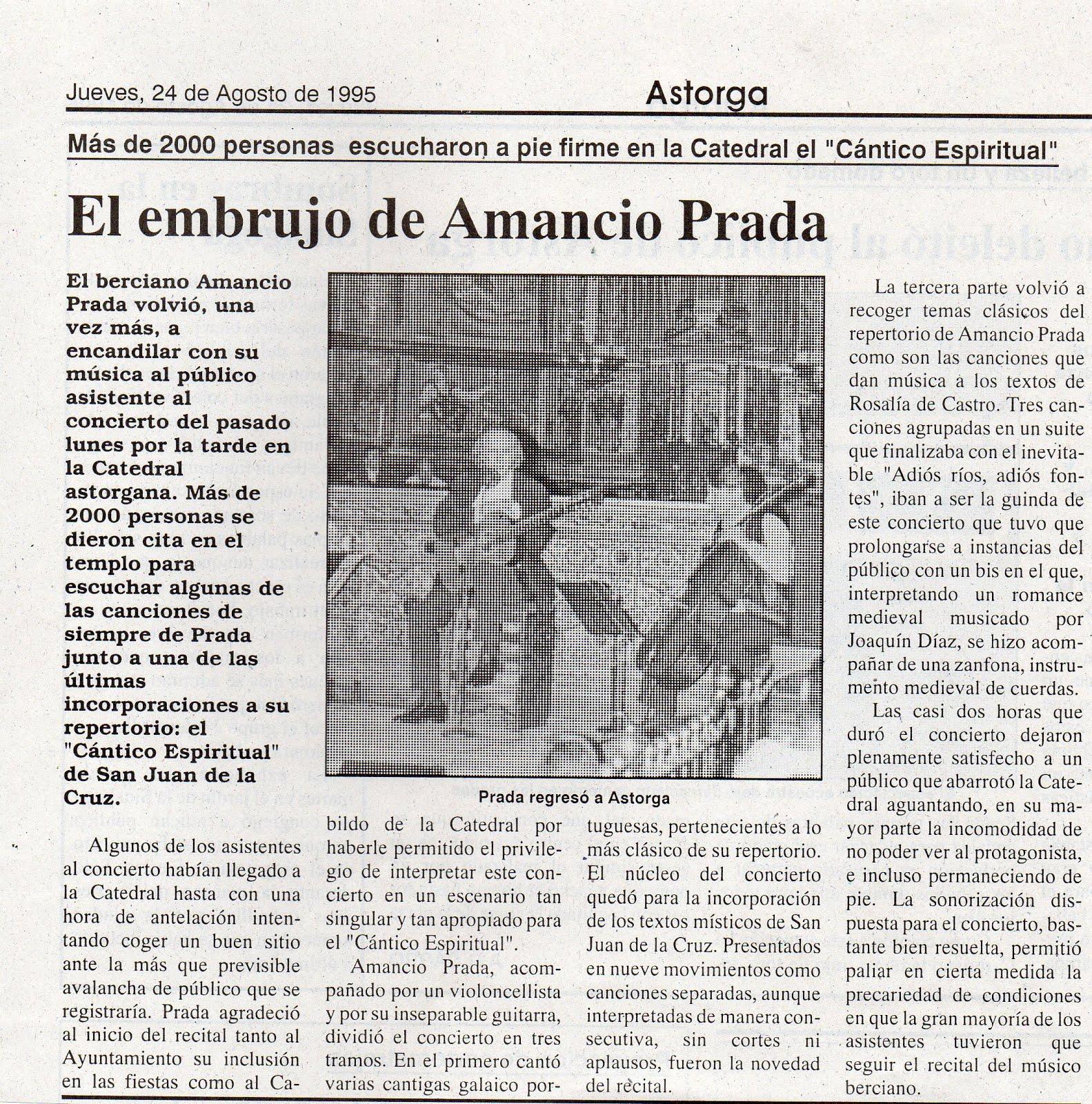 En la Catedral de Astorga.1995