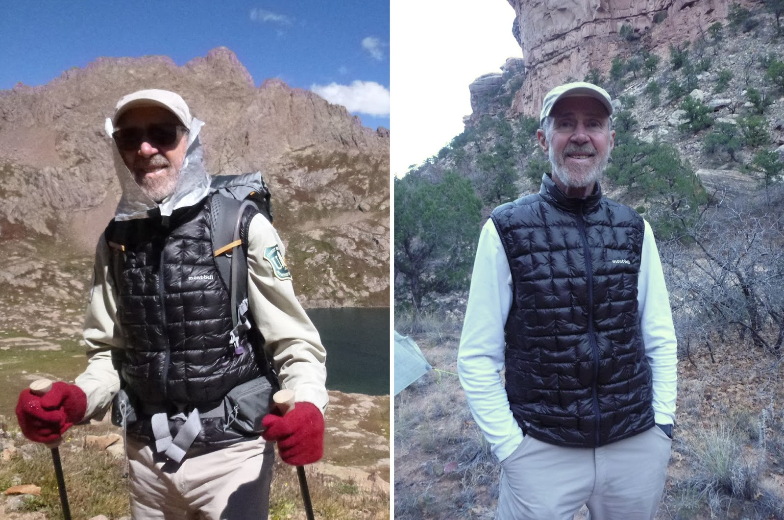 d30dee2ef47 I tested the Montbell Plasma 1000 Down Vest on three backpacking trips in  the Southwestern Colorado mountains and Southern Utah canyon lands.