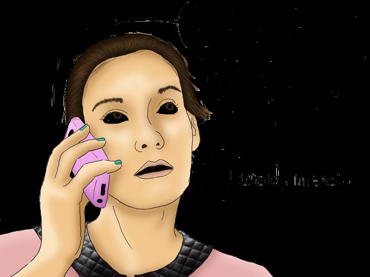 attente au téléphone