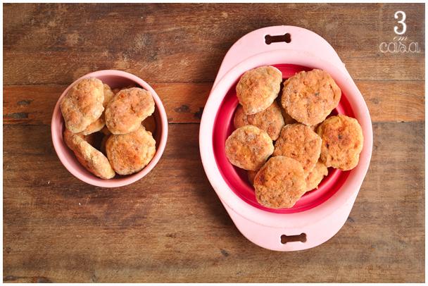 receita nuggets caseiro