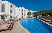 queen-resort-bodrum-gümbet-yüzme-havuzu