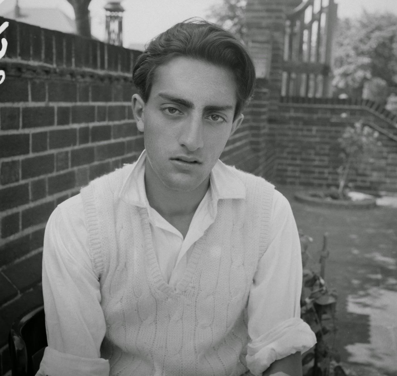 India Cricketer Mansoor Ali Khan Pataudi in 1960