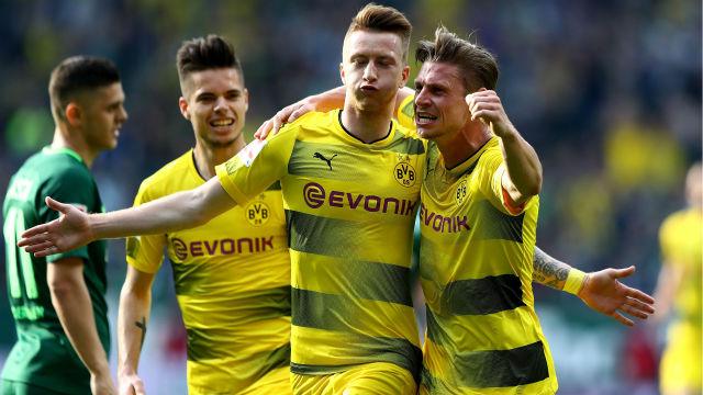 Video Cuplikan Gol Dortmund 1-1 Werder Bremen   Bundesliga Pekan 32