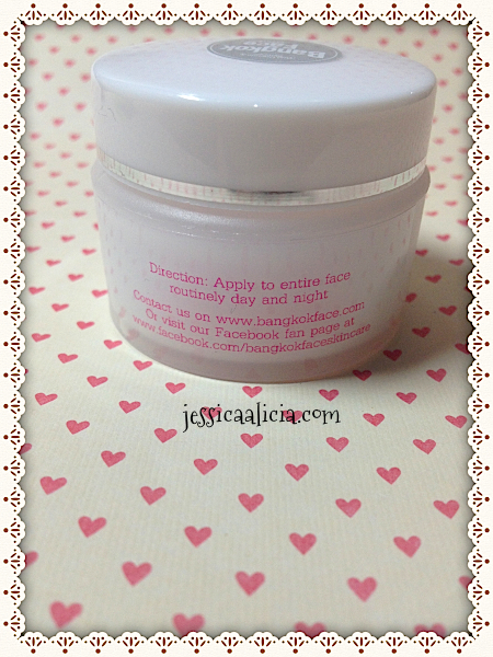 Review : Bangkok Face Gem Fruit Pudding Cream & Lotus Sparkling Mask by Jessica Alicia