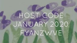 HOST CODE FOR JANUARY 2020