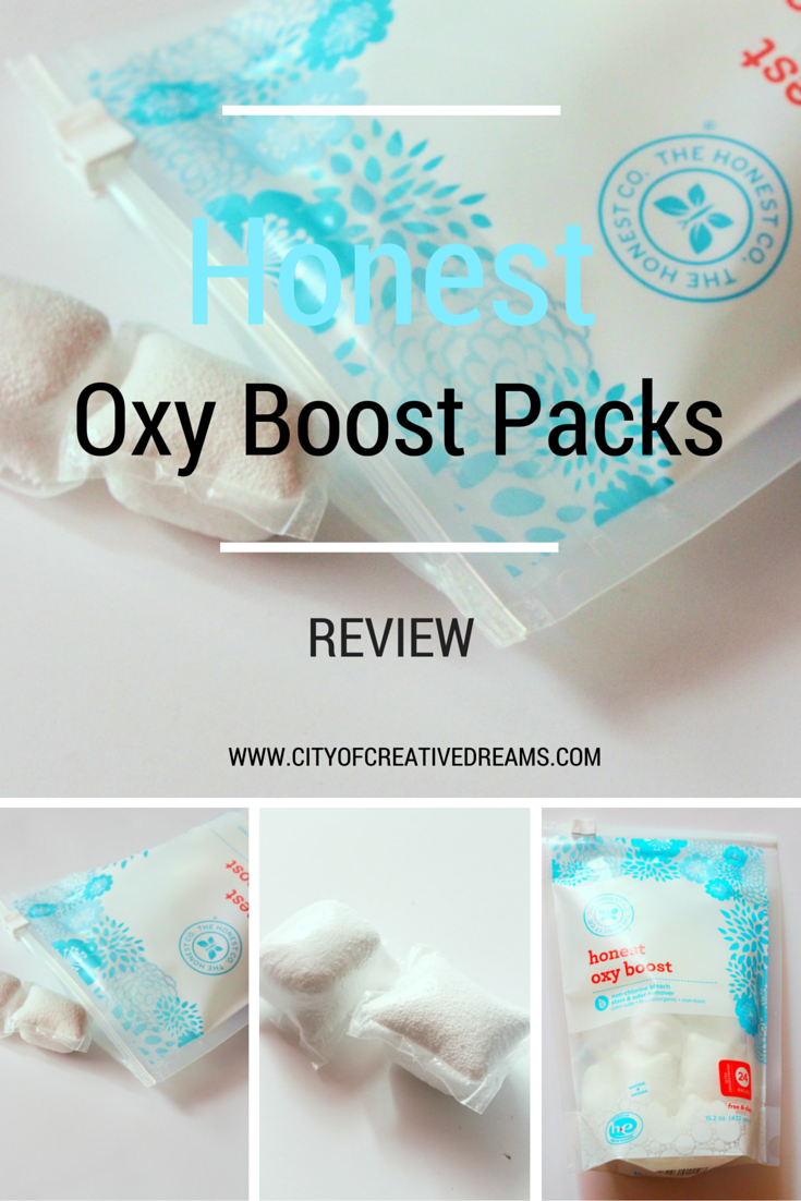 Honest Oxy Boost Laundry Packs Review | City of Creative Dreams