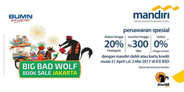 Kenapa Sih Harus Belanja Buku di Big Bad Wolf Jakarta 2017?